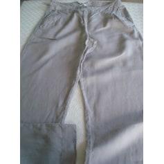 Pantalon évasé La Redoute  pas cher