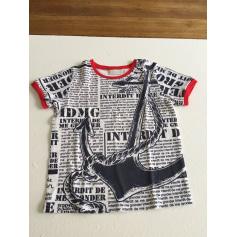 Tee-shirt Interdit de me gronder  pas cher
