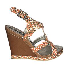 Sandales compensées Baldinini  pas cher