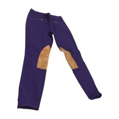 Pantalon slim, cigarette Ralph Lauren  pas cher