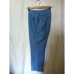 Pantalon slim, cigarette Diapositive  pas cher