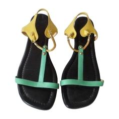 Sandales plates  Christian Louboutin  pas cher