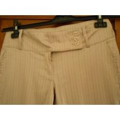 Pantalon très evasé, patte d'éléphant No Excuse  pas cher