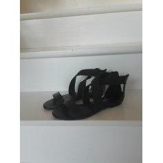 Sandales plates  Kookai  pas cher