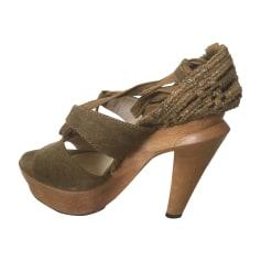 Sandales compensées Vanessa Bruno  pas cher