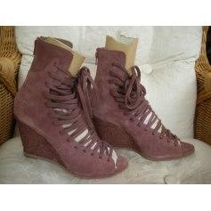 Bottines & low boots à compensés Bronx  pas cher