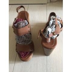 Sandales compensées Tila March  pas cher