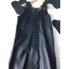 Robe mi-longue   pas cher