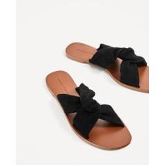 Sandales plates  Zara  pas cher