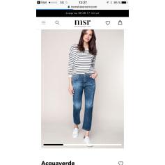 Jeans large, boyfriend Aquaverde  pas cher