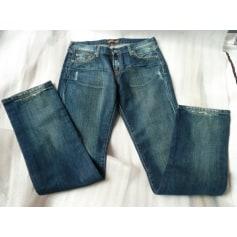 Jeans droit Aquaverde  pas cher