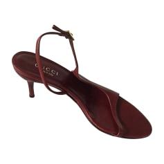 Sandales à talons Gucci  pas cher