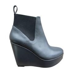 Bottines & low boots à compensés Robert Clergerie  pas cher