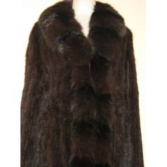 Manteau en fourrure Artisan Fourreur  pas cher