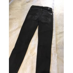 Pantalon slim, cigarette 7 For All Mankind  pas cher