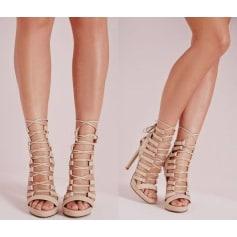Chaussures à lacets  Missguided  pas cher