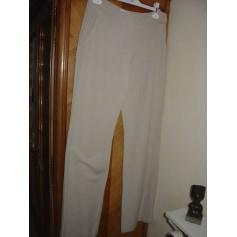 Pantalon large Mango  pas cher