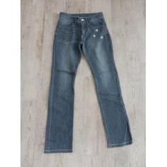 Jeans droit Ooxoo  pas cher