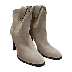 High Heel Ankle Boots Burberry