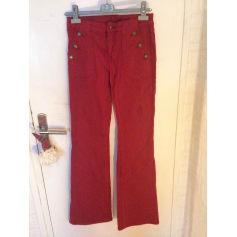 Jeans très evasé, patte d'éléphant 1.2.3  pas cher