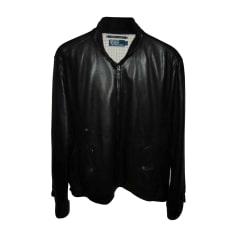 Leather Zipped Jacket Ralph Lauren