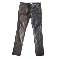Pantalon slim, cigarette American Retro  pas cher