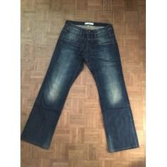 Pantalon droit Freeman T Porter  pas cher
