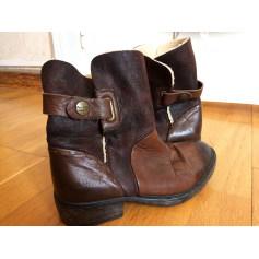Santiags, bottines, low boots cowboy Pepe Jeans  pas cher