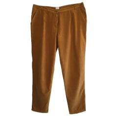 Pantalon carotte Des Petits Hauts  pas cher