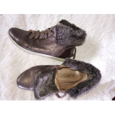 Bottines & low boots plates Karston  pas cher
