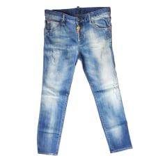 Jeans droit Dsquared2  pas cher