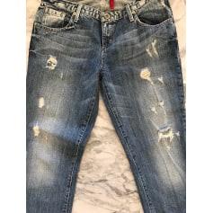 Jeans large, boyfriend Guess  pas cher