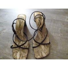 Sandales à talons Alain Manoukian  pas cher