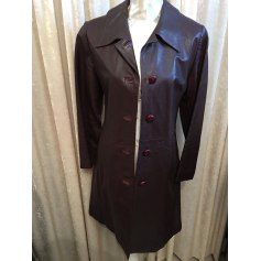 Manteau en cuir Claudie Pierlot  pas cher