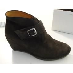 Bottines & low boots à compensés Gabor  pas cher