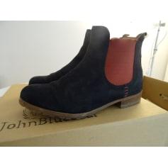Bottines & low boots plates John Blue Bear (Softwaves)  pas cher