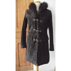 Manteau en cuir Kiabi  pas cher