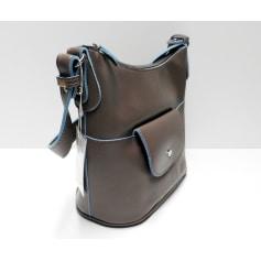 Lederhandtasche David Jones