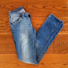 Jeans droit Les Petites...  pas cher