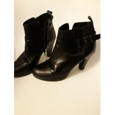 Bottines & low boots à talons Mitica  pas cher