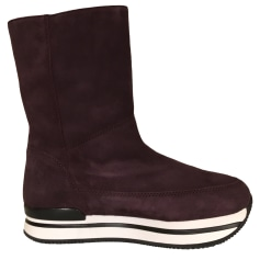 Bottines & low boots à compensés Hogan  pas cher