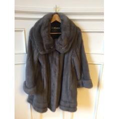 Manteau en fourrure EMBA  pas cher