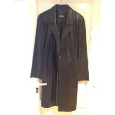 Manteau en cuir Atika  pas cher