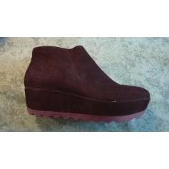 Bottines & low boots à compensés Camper  pas cher