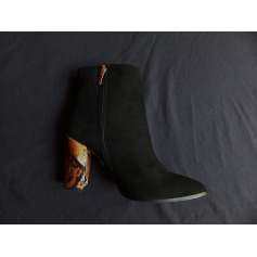 Bottines & low boots à talons Heyraud  pas cher