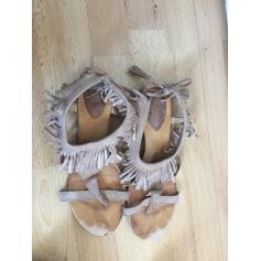 Sandales plates  Ikks  pas cher