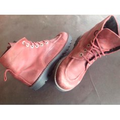 Bottines & low boots plates Made In Italie  pas cher