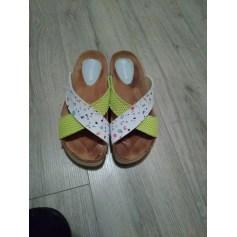 Sandales plates  Desigual  pas cher