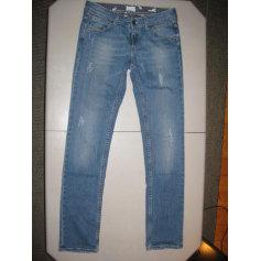 Jeans droit Quiksilver Femme  pas cher