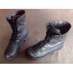 Bottines & low boots à talons Les Tropéziennes Par M. Belarbi  pas cher